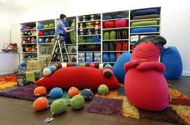 home theater bean bag chairs yogibo bean bag furniture store opening in short pump town center