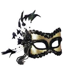 gold masquerade mask black and gold masquerade mask women costumes