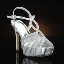wedding shoes glasgow badgley mischka idol silver silver wedding shoes wedding
