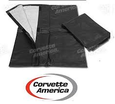 corvette america parts 1968 1982 corvette c3 t top storage bags pair by corvette america