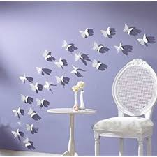 Compare Prices On Hanging Butterfly Decoration Online Shopping by Amazon Com Blaydessales Butterfly Wall Art Pack Of 24 White