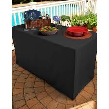 How To Make A Fitted Tablecloth For A Rectangular Table Amazon Com Folding Table Cover Fitted Tablecloth For 4 Foot