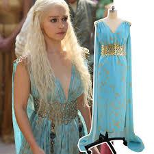 khaleesi costume daenerys targaryen costume mhysa khaleesi dresses women