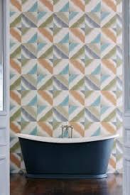 36 best bathroom wallpaper ideas images on pinterest wallpaper harlequin s quadro wallpaper design looks stunning in this bathroom