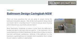 How Do You Install A Bathtub Bathroom Renovator Caringbah Nsw Sydney Bathroom Reno Masters Cal U2026