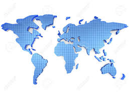 world map stock image map stock image