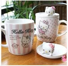 Types Of Coffee Mugs 4 Types Cartoon Cute Animals Cat Glass Ceramics Mugs With Cover