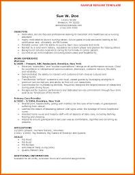 Sample Resume For Cna Job 100 Sample Resume Cna Job 81 Surprising Job Resumes Entry