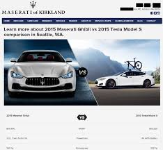 ghibli maserati maserati dealership takes down tesla model s vs ghibli comparison