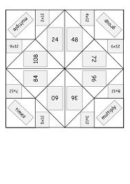 Multiplication Fortune Teller Template times multiplication table origami fortune tellers word and pdf
