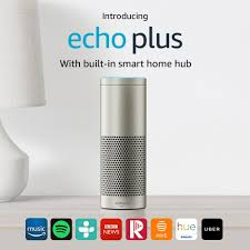 introducing echo plus with built in smart home hub amazon co uk