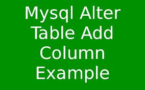Postgresql Alter Table Add Column Alter Table In Mysql Example Brokeasshome Com