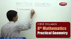 practical geometry class 8th mathematics ncert cbse syllabus