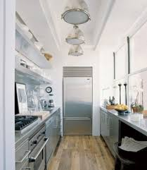 small galley kitchen design photo of exemplary ideas about small