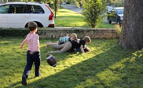 Kids Playing Backyard Football How To Keep Annoying Kids Off Your Property While You Are Away
