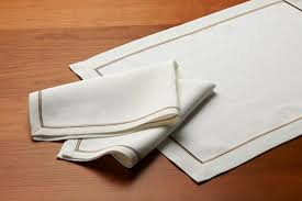 custom yacht table linens jet table linens