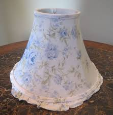 rachel ashwell simply shabby chic rachel ashwell simply shabby chic british blue rose fabric lamp