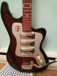 guitar blog very cool vintage japanese solid body guitar