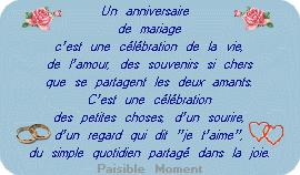 48 ans de mariage de mariage
