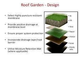 roof garden n vertical garden