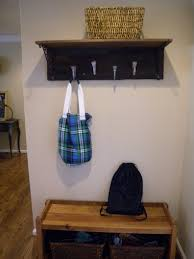 diy rustic coat rack and shelf clockwork interiors
