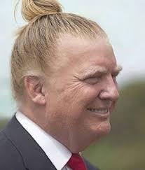 ronald reagan haircut gay hairstylists trick donald trump into top knot texas pastors