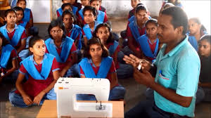 usha janome sewing machine demonstration gaya bihar 2016