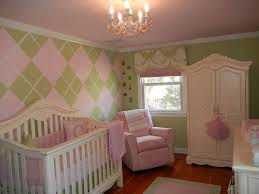 Pink And Green Nursery Decor Vote For March S Favorite Room Project