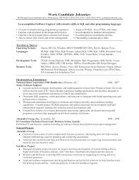 Software Testing Resume Format For Experienced Sample Software Tester Resume Interesting Sample Resume For