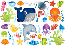 fun4walls under sea wall decals walmart com