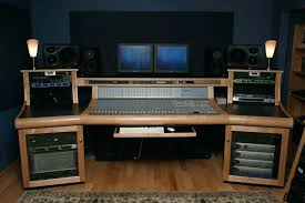 Diy Recording Desk Diy Studio Desk Plans Recording Desk Plans Diy Studio Workstation