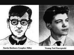 sketches of zodiac killer and tylenol murderer compared to ted