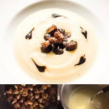 huile de noisette cuisine soupe de chou fleur à l huile de noisette