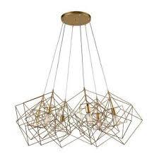 Cluster Pendant Light Gold Cluster Pendant Lights Hanging Lights The Home Depot