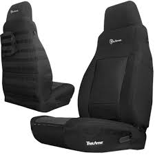 seat covers jeep wrangler jeep seating bartact ta tjsc0306fpbb bartact front seat
