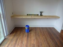Floating Wall Desk Fourtitude Com I Want To Make A Floating Desk Table