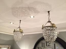 Chandeliers For Sale Uk by Hand Painted Furniture Lighting For Sale Pair Basket