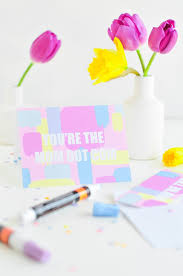 Diy Mother S Day Card by 24 Thoughtful Diy Mother U0027s Day Gift Ideas To Wow Mom Brit Co