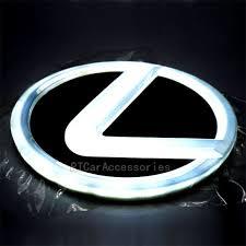 lexus emblem aliexpress com buy free shipping 4d lexus led lighted emblem for