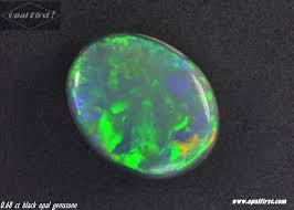 blue green opal 0 68 ct natural solid black opal gemstone 7 5 x 6 x 2 4 video
