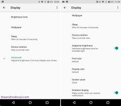 settings for android android oreo 8 0 settings guide where are your options from