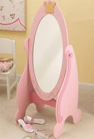 Bedroom Furniture Design Kidkraft 76137 Pink Princess Cheval Dress Up Mirror For Kids Girls