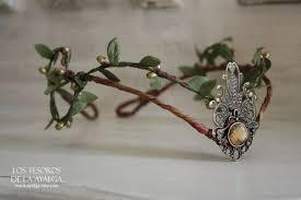 woodland elf tiara elven headpiece fairy crown