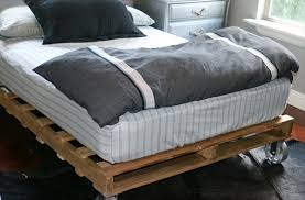 Bed Frames How To Make by Bed Frame How To Make A Bed Frame Out Of Pallets Bed Frames