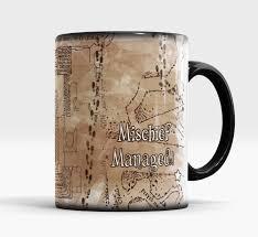 hogwarts mugs marauders map morph coffee mug disappearing mugs