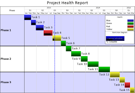 project health in excel onepager express