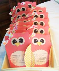 owl baby girl shower decorations photo nellies nest owl image