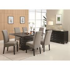 coaster furniture 102061 stanton dining table in black homeclick com