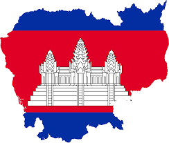 Map Of Cambodia File Flag Map Of Cambodia Svg Wikimedia Commons