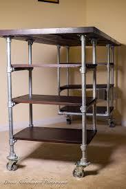 pipe desk with shelves industrial pipe desk with shelving 003 elegant jesanet com